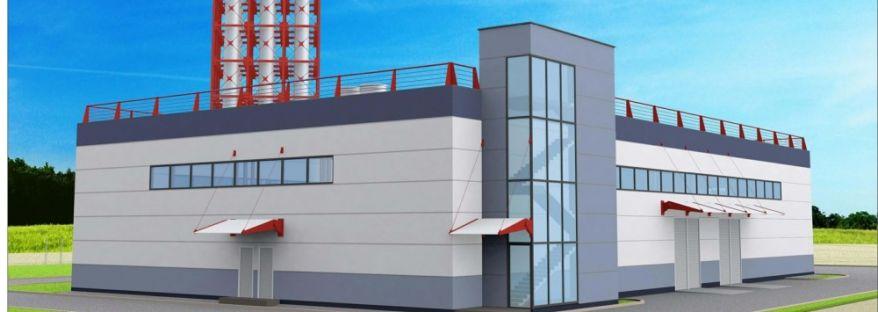 Газовая котельная 76,8 МВт