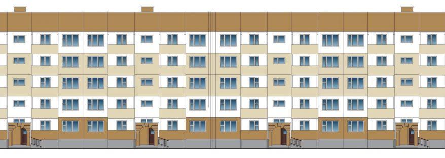 Пятиэтажный жилой дом